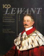 2019.05.07. 100th Anniversary Of The Establishment Of The Poznan University - Rector Heliodor Swiecicki - Block MNH - Unused Stamps