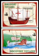 Grenada 1991 Discovery Of America By Columbus MS Set MNH (SG MS2230a+b) - Grenada (1974-...)
