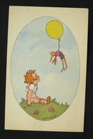Zoe Borelli Signed Pc - Pinocchio Burattino/luftballon - Illustrateurs & Photographes
