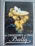 Advertising - Les Chaussures De Toile Bally - SP1704 - Publicité