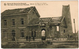 Ruines De Zarren Lez Dixmude, La Gare Et Le Moulin (pk59359) - Diksmuide