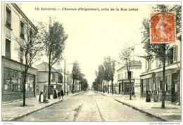 (92) ASNIERES - L AVENUE D ARGENTEUIL -  Bb-262 - Asnieres Sur Seine