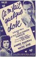 Ca M'fait Quelque Chose - André Claveau (p: Pierre Havet - M: René Denoncin & Jack Ledru), 1952 - Non Classés