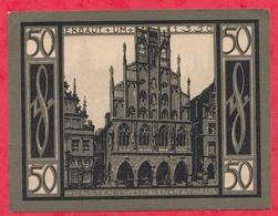 Allemagne 1 Notgeld De 50 Pfenning Stadt Münster Dans L 'état N °3666 - [ 3] 1918-1933 : República De Weimar