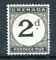 Grenada 1921-22 Postage Dues - 2d Black Used (SG D13) - Grenada (...-1974)