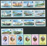 Grenada 1982 Officials Set MNH (SG O1-O19) - Grenada (1974-...)