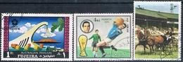 Fujeira 1970 / 73  -  Michel  1003 + 1293 + 1400   ( Usados ) - Fujeira