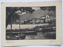 Opatija Abbazia - Istria 1947 - Nice Engraving - Jugoslawien