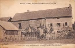 63. N°55156.ceyssat.station D'altitude Enommée.maison Serre.restauration Et Pension De Famille - France