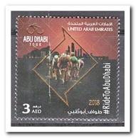 Verenigde Arabische Emiraten 2018, Postfris MNH, Abu Dhabi Tour, Bicycles - Verenigde Arabische Emiraten