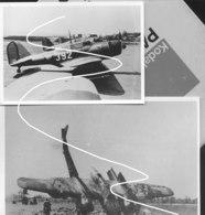 17 Nederlandse Militair Vliegtuigen 2 WO Repros - 1939-45
