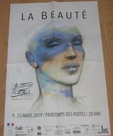 Affiche BILAL Enki Le Printemps Des Poètes 2019 (La Beauté Bug... - Affiches & Offsets