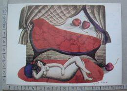 Portugal - Martha Telles - Variations Sur Un Theme - Réve Aux Cerises - SP1719 - Peintures & Tableaux