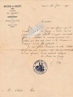 93 - Mairie De GAGNY - Décision Du Conseil Municipal En 1890 ( Quatre Pages Format A4 Dont Une écrite ) - Historical Documents