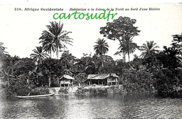 A.O.F. SENEGAL -  DAKAR - HABITATION AU BORD DE RIVIERE SPLENDIDE - Senegal