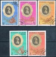 Fujeira 1971  -  Michel  770 / 74   ( Usados ) - Fujeira