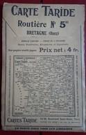 Carte Routière TARIDE - N° 5bis: Bretagne (Ouest) - Cartes Routières