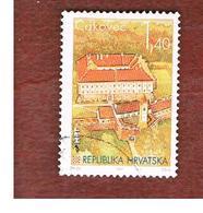 CROAZIA (CROATIA)  - SG 384  -  1995  CROATIAN TOWNS: CASTLE, CAKOVEC  -   USED - Croazia