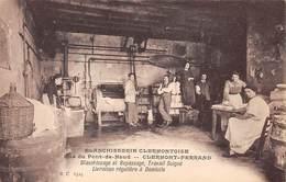 63. N°55166.clermont Ferrand.blanchissage Et Repassage.travail Soigné - Clermont Ferrand