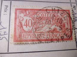 FRANCE TIMBRE OU SERIE YVERT N° 119 - France