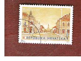 CROAZIA (CROATIA)  - SG 382  -  1995  CROATIAN TOWNS: BJELOVAR   -   USED - Croazia