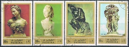 Fujeira 1972  -  Michel  846 / 848 + 850   ( Usados ) - Fujeira