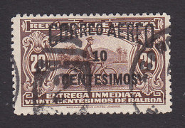 Panama, Scott #C18A, Used, Bike Messenger Surcharged, Issued 1935 - Panama