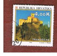 CROAZIA (CROATIA)  - SG 286  -  1994  TOURISM: TRAKOSCAN CASTLE   -   USED - Croazia