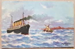 Germany 1916 Schiff Kjelstrup Hokkerup - Non Classificati