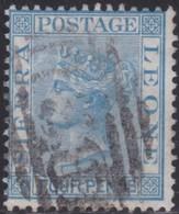 Sierra Leone   .   SG  .    21        .      O   .   Cancelled      .   /   .    Gebruikt - Sierra Leone (...-1960)