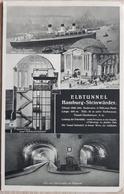 Germany 1939 Hamburg Elbtunnel - Non Classificati