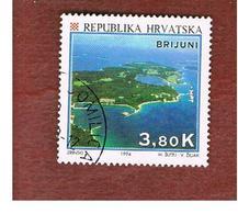 CROAZIA (CROATIA)  - SG 285  -  1994  TOURISM: BRIJUNI ISLANDS   -   USED - Croazia