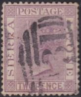 Sierra Leone   .   SG  .    25        .      O   .   Cancelled      .   /   .    Gebruikt - Sierra Leone (...-1960)