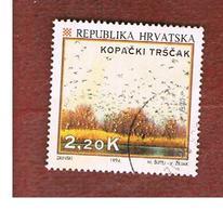 CROAZIA (CROATIA)  - SG 283  -  1994  TOURISM: KOPACKI, NATURAL RESERVE   -   USED - Croazia