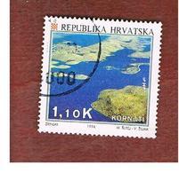 CROAZIA (CROATIA)  - SG 282  -  1994  TOURISM: KORNATI ISLANDS  -   USED - Croazia
