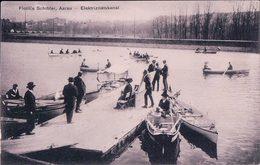 Aarau, Elektrizitätskanal, Flotille Schibler (3339) - AG Argovie