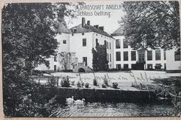 Germany Schloss Gelting Flensburg Bahnpost 1920 - Non Classificati