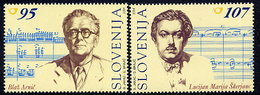 SLOVENIA 2001 Composers MNH / **  Michel 366-66 - Eslovenia