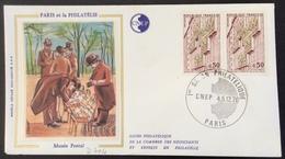 D404 1er Salon Philatélique CNEP 4-5/12/1976 Paris 1782 Musée Postal - Postmark Collection (Covers)