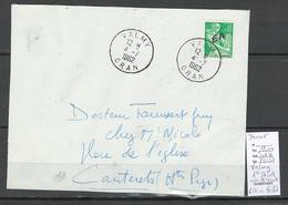 Algerie -EA - Devant De Lettre : Cachet VALMY - 1er Jour Indépendance - Algérie (1924-1962)
