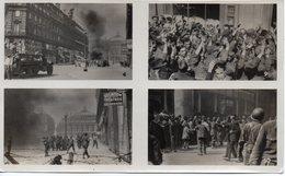 1 Planche 4 Photos 5/8.5 Lapi ,libération De Paris. - Krieg, Militär