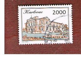 CROAZIA (CROATIA)  - SG 212  -  1993 CROATIAN TOWNS: KARLOVAC   -   USED - Croazia