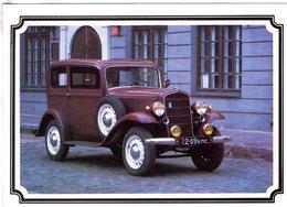 Opel P4  -  1935  -  Carte Postale De Russie - Toerisme