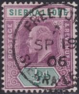 Sierra Leone   .   SG  .     86      .      O   .   Cancelled      .   /   .    Gebruikt - Sierra Leone (...-1960)