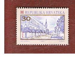 CROAZIA (CROATIA)  - SG 179  -  1992 GOSPIC   -   USED - Croazia
