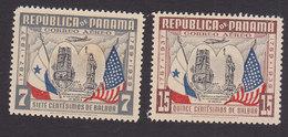 Panama, Scott #C49, C51, Mint Hinged, US Constitution, Issued 1938 - Panama