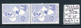 BELGIAN CONGO COB 337/338 MNH - Congo Belge
