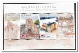 Philipijnen 2018, Postfris MNH, Philippines-Croatia - Philippines