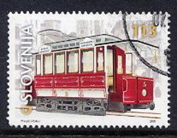 SLOVENIA 2001 Centenary Of Ljubljana Trams Used. Michel 357 - Slovenia