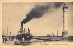 OUISTREHAM - Départ Du Bateau Du Havre - Ouistreham